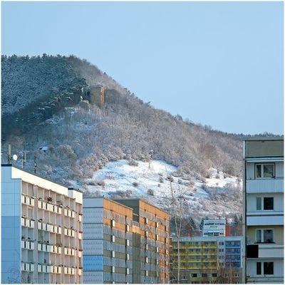 Wintermorgen in Lobeda 3