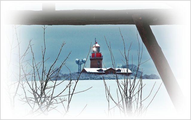 Winternachmittag am Bastorfer Leuchtturm