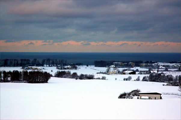 Winternachmittag bei Bastorf/Ostsee