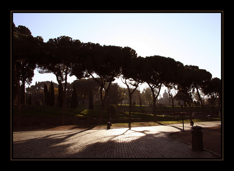 Winternachmittag in Rom