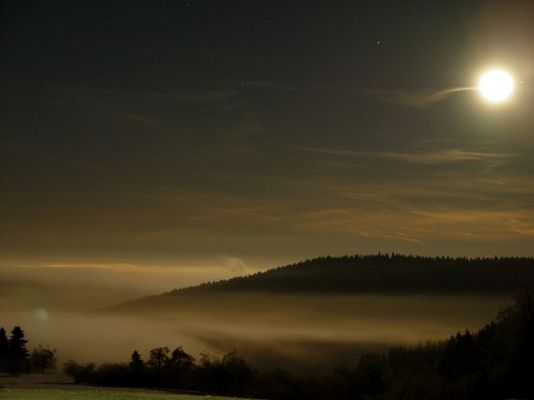 Winternacht am Rennsteig