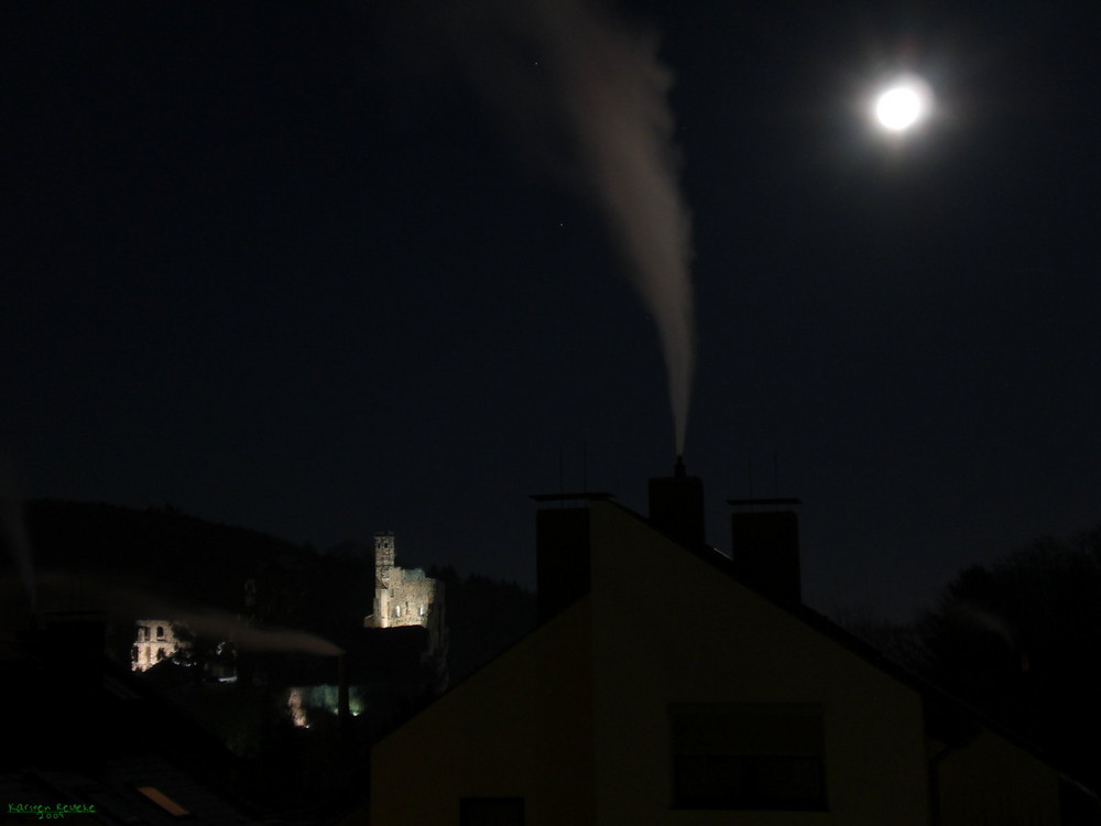 Winternacht bei -21°C...