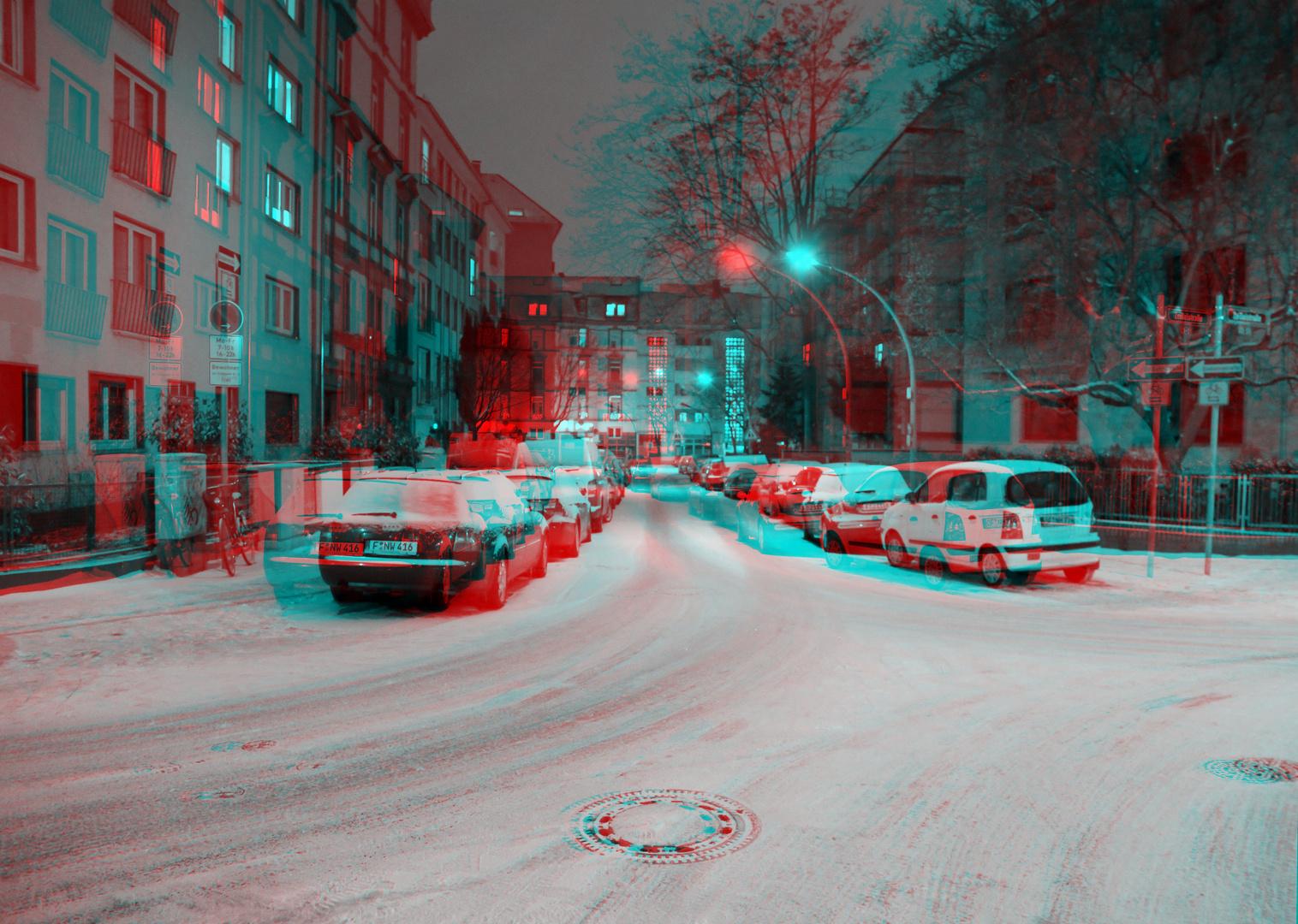Winternacht im Frankfurter Nordend II