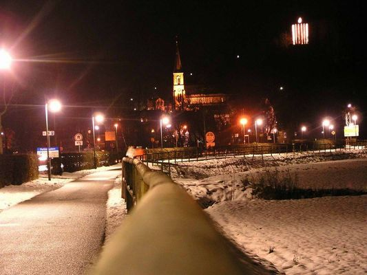 Winternacht in Bad Soden-Salmünster