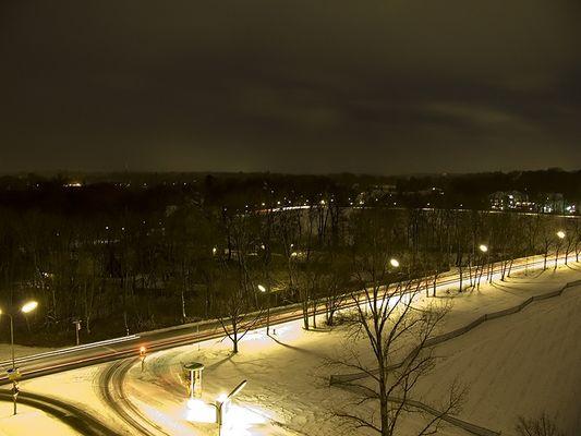 Winternacht in München