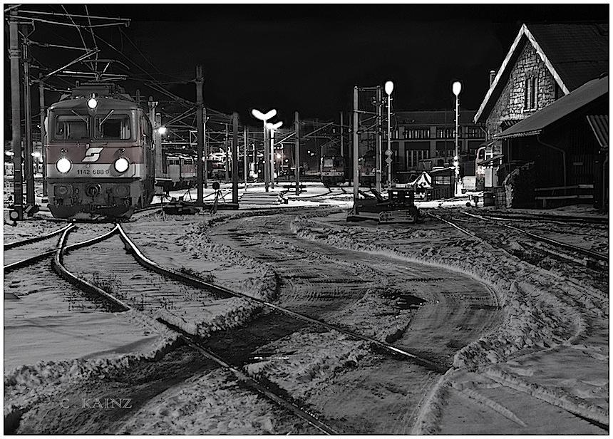 Winternacht in Mürz
