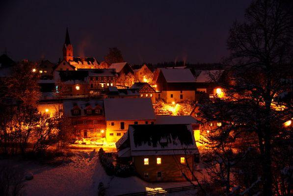 Winternacht in Tiefenpölz