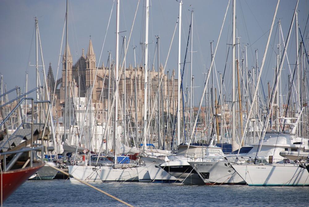Winterpause der Segler auf Mallorca