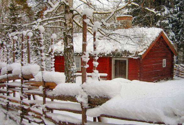 Winterpracht in Stockholm