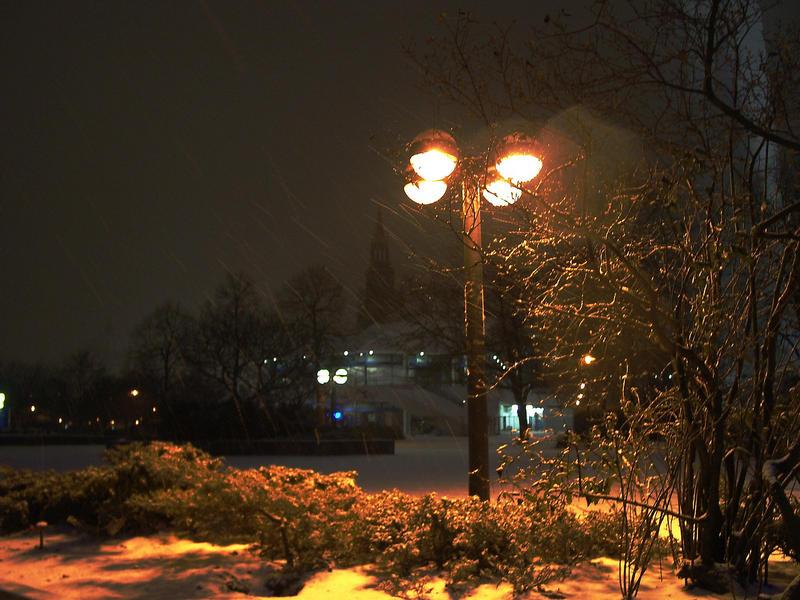 Winterromantik am Alexanderplatz