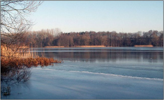 Winterruhe am Neumühler See