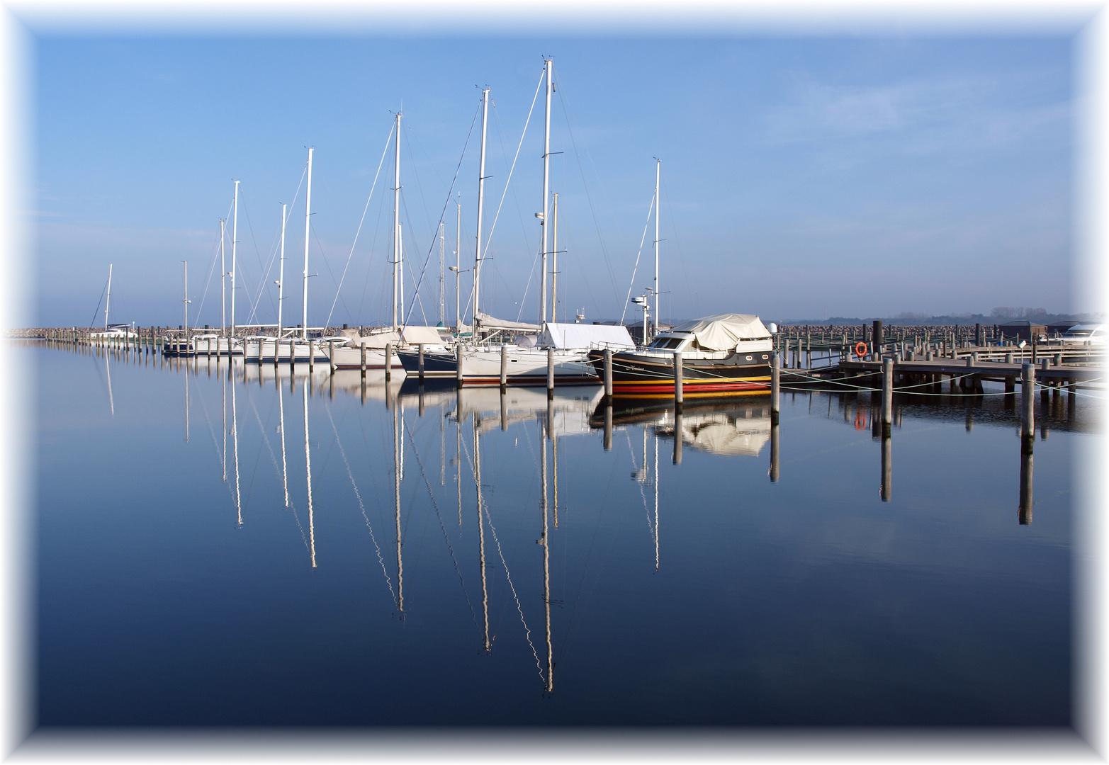 Winterruhe in der Yachthafenresidenz