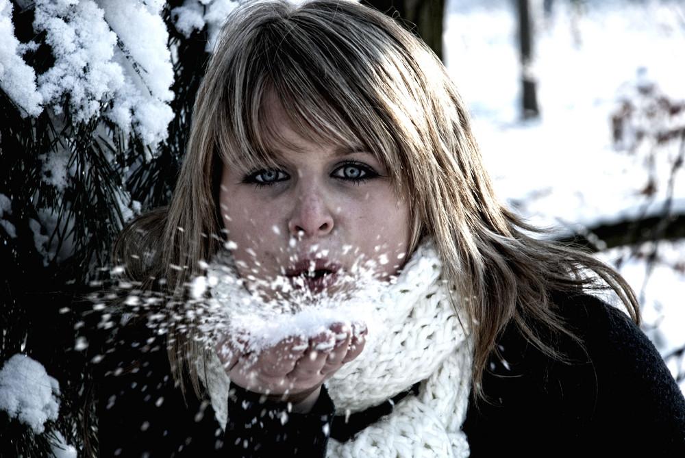 Wintershooting mit Hanne