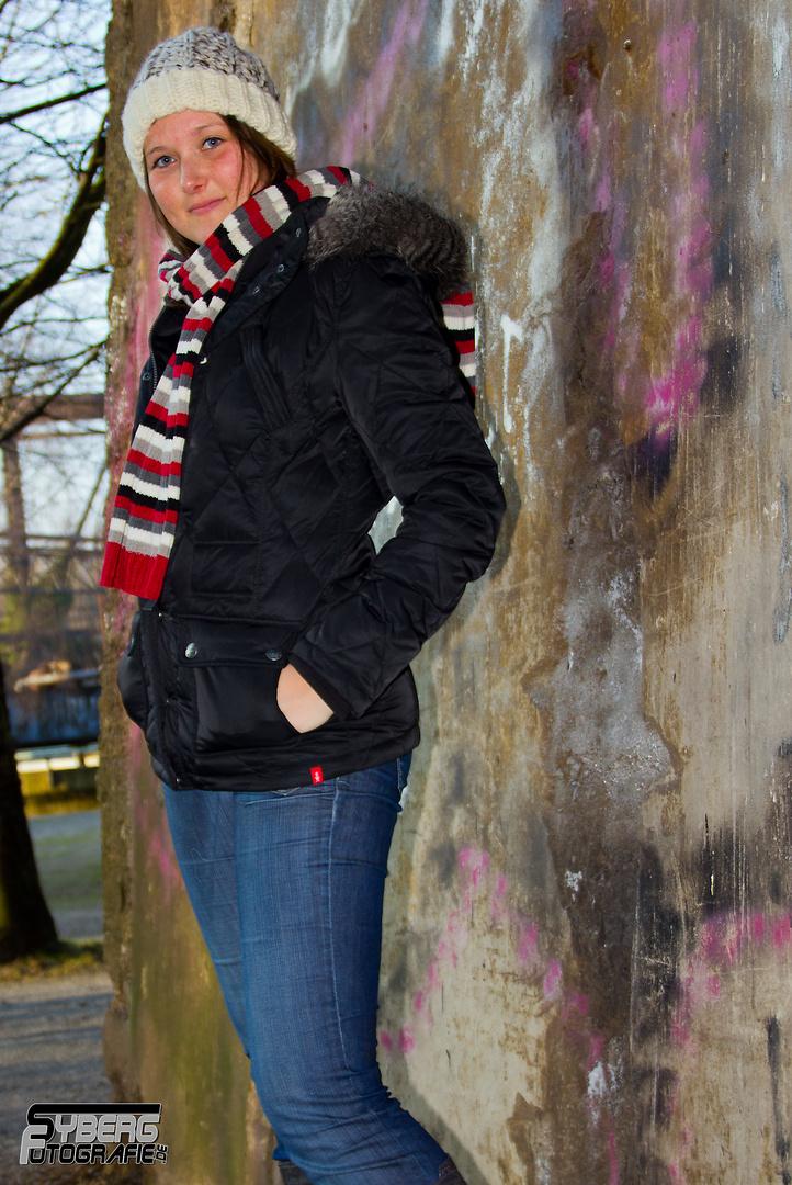 Wintershooting mit Kerstin