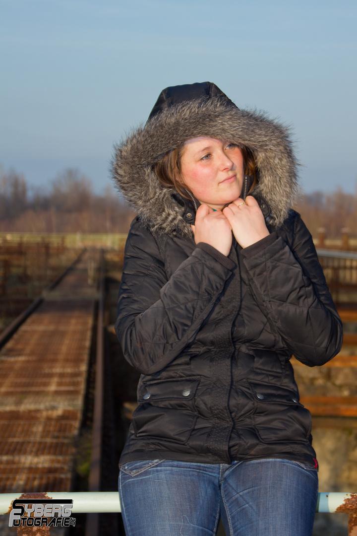 Wintershooting mit Kerstin 4