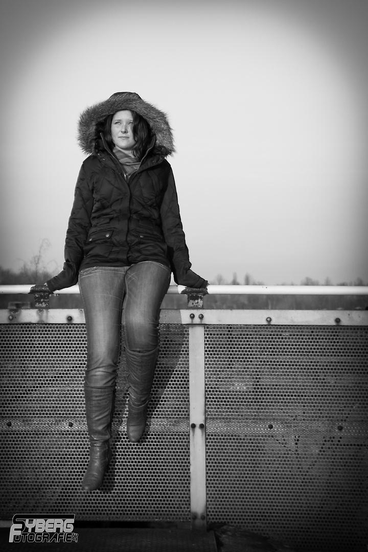 Wintershooting mit Kerstin 5