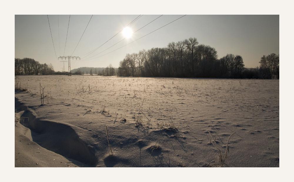 Wintersonne bei -14°C