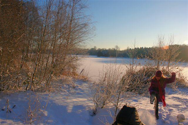 Winterspass am Baggersee