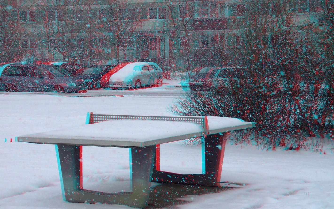 Wintersport ? (3D-Foto)