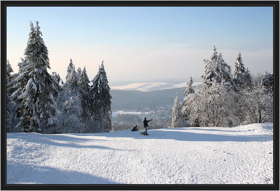 Wintersport im Taunus
