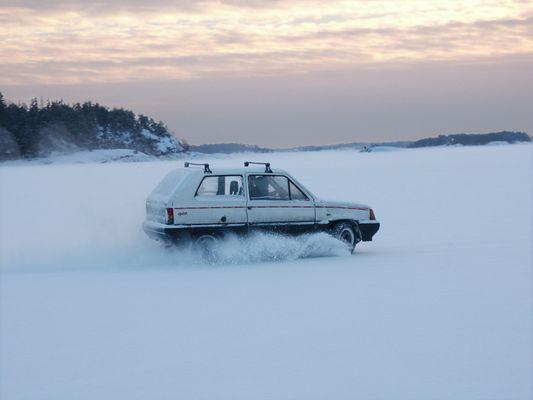 Wintersport in Finnland