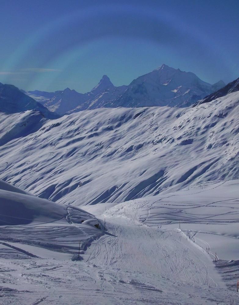 Wintersport mit Aussicht