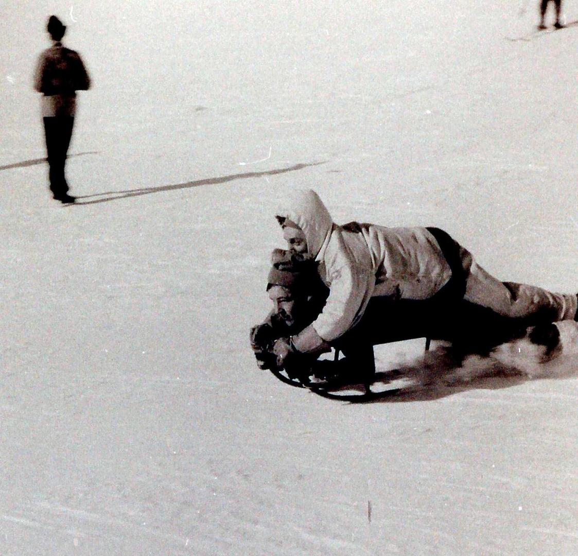 Wintersport um 1950 (8)