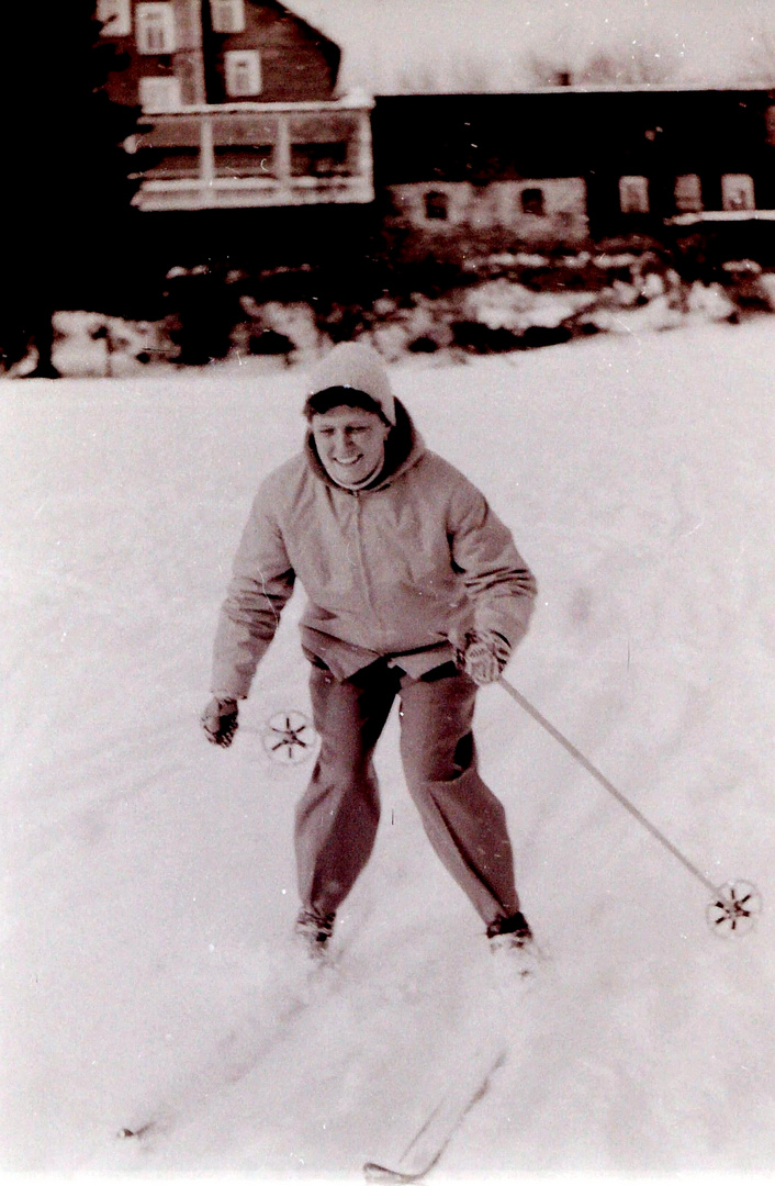 Wintersport um 1950 (9)