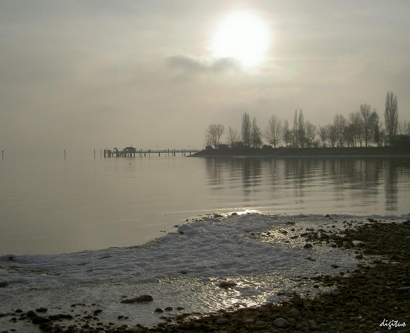 Winterstimmung am Bodensee