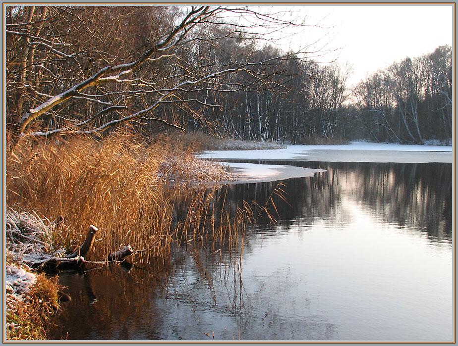 Winterstimmung am Brüssower See