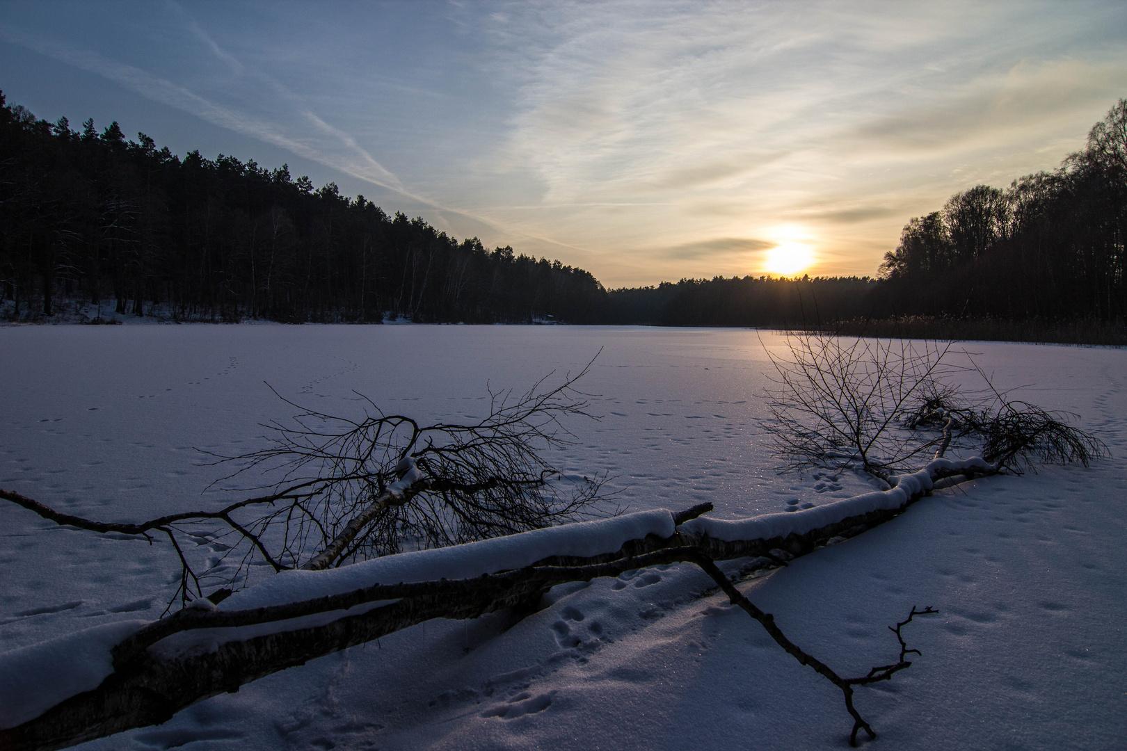 - Winterstimmung am Hungersee -