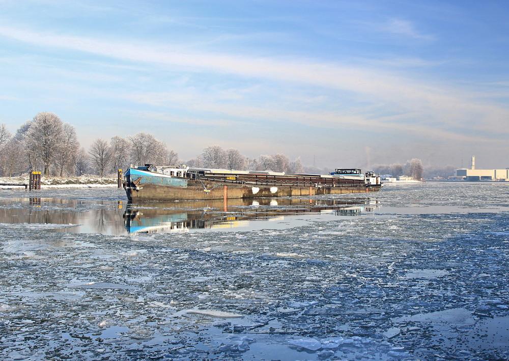 Winterstimmung am Rhein-Herne-Kanal