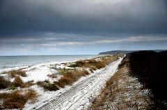 Winterstimmung am Strand der Insel