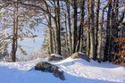 Winterstimmung auf dem Hochblauengipfel