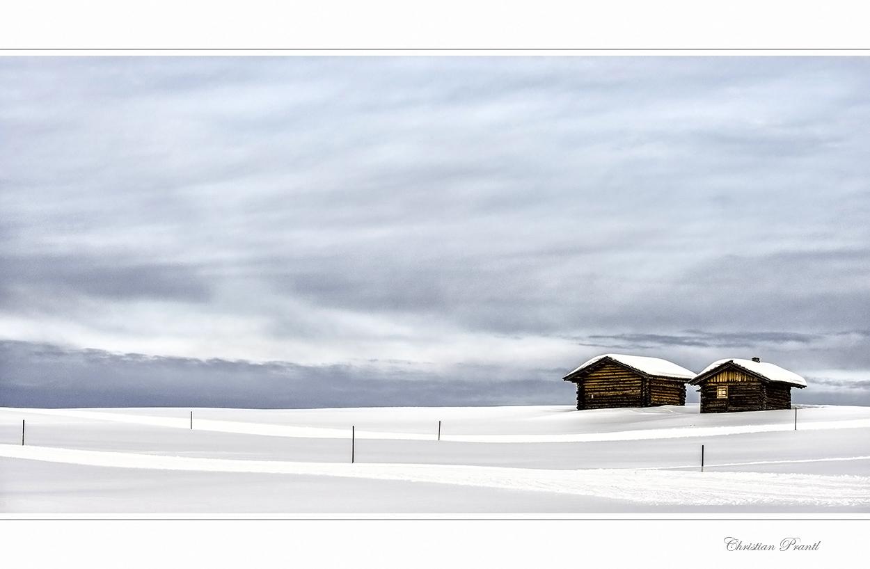 Winterstimmung auf der Seiser Alm