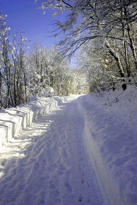 Winterstimmung bei Bad Tölz