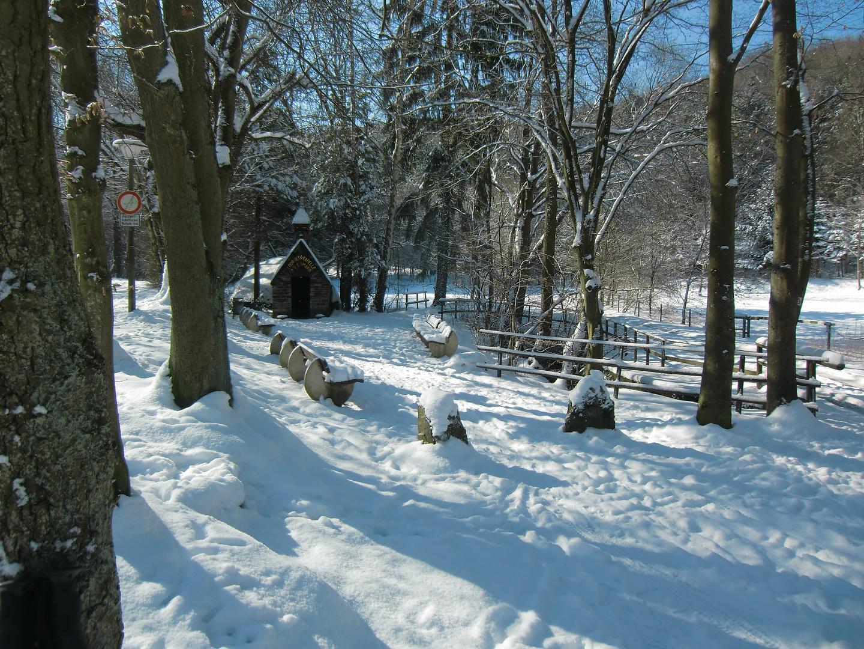 Winterstimmung im Bachemer Tal