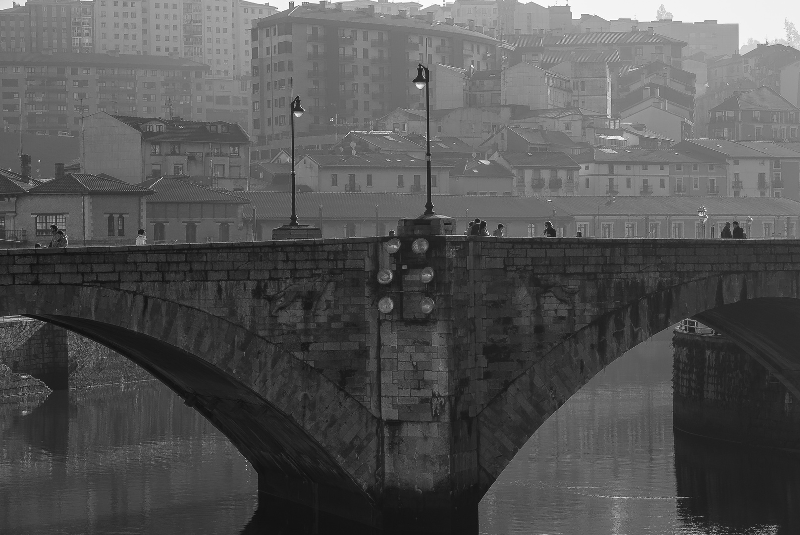 Winterstimmung in Bilbao