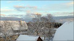 Winterstimmung in der Abendsonne...