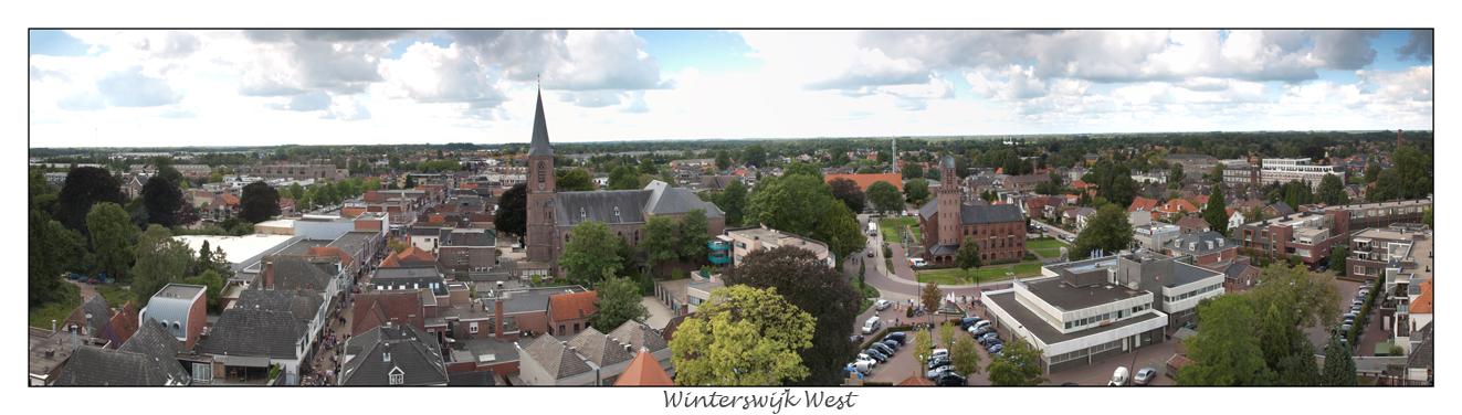 Winterswijk , panorama , jacobs kerk , Jesse Rensink