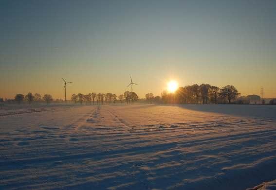 Wintertag im Münsterland