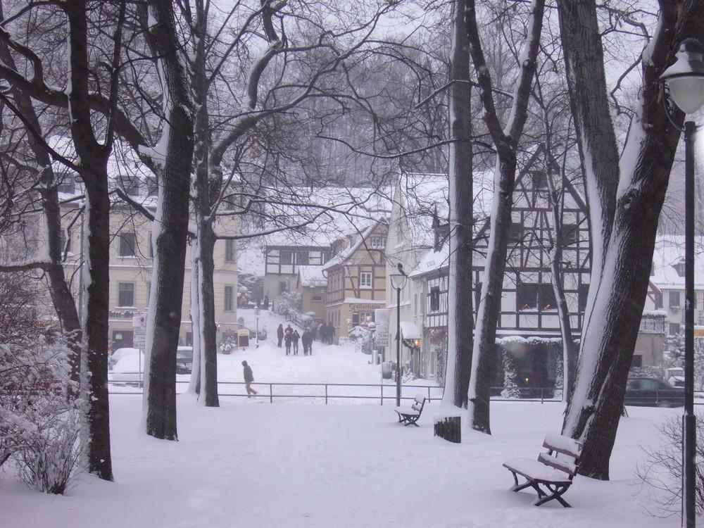 Wintertag in Chemnitz