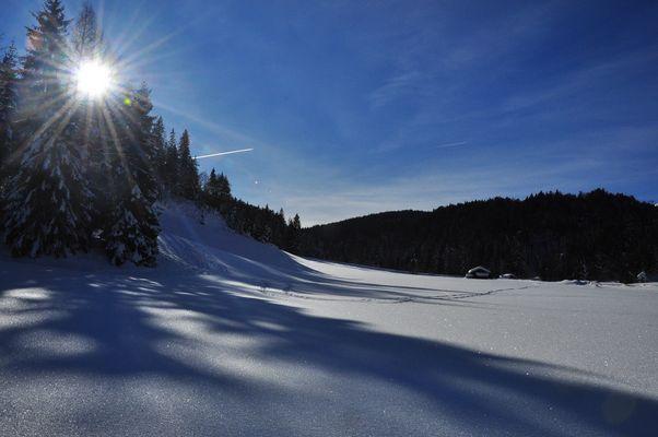 Wintertag in der Leutasch /Tirol