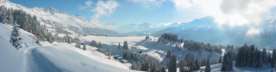 Wintertag in Graubünden