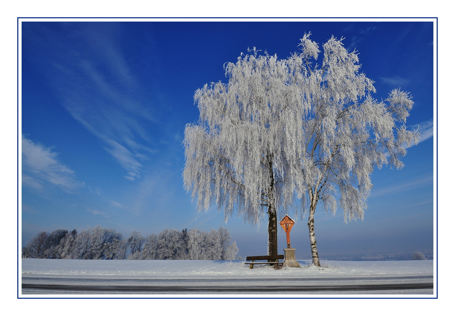 Wintertag in Niederbayern
