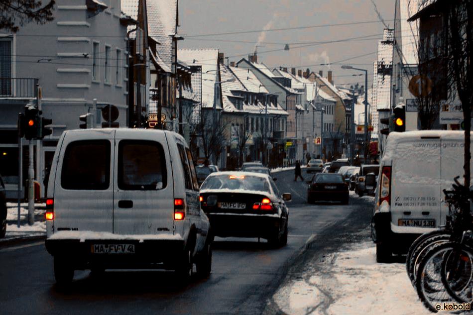 Wintertime in Feudenheim