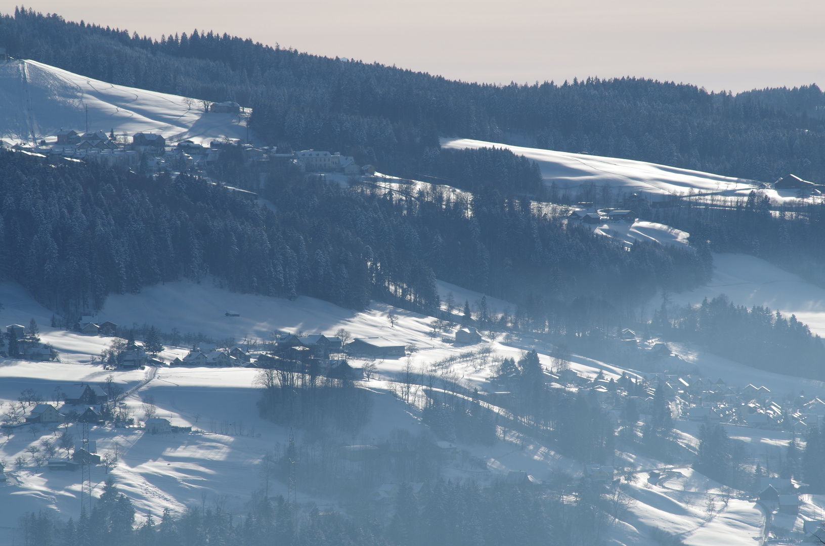 Wintertraum Alpen