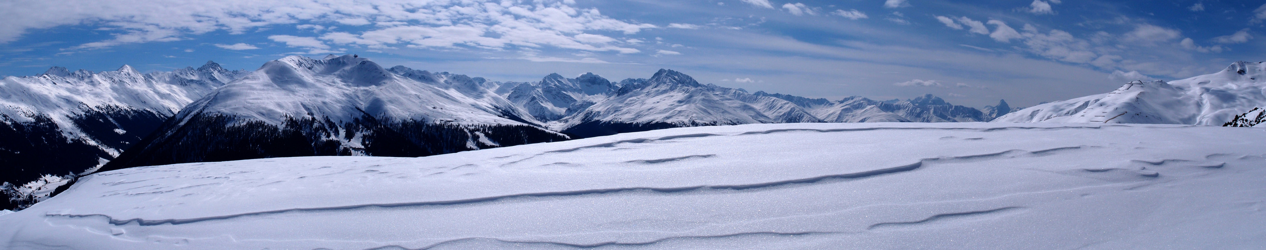 Wintertraum an der Strela