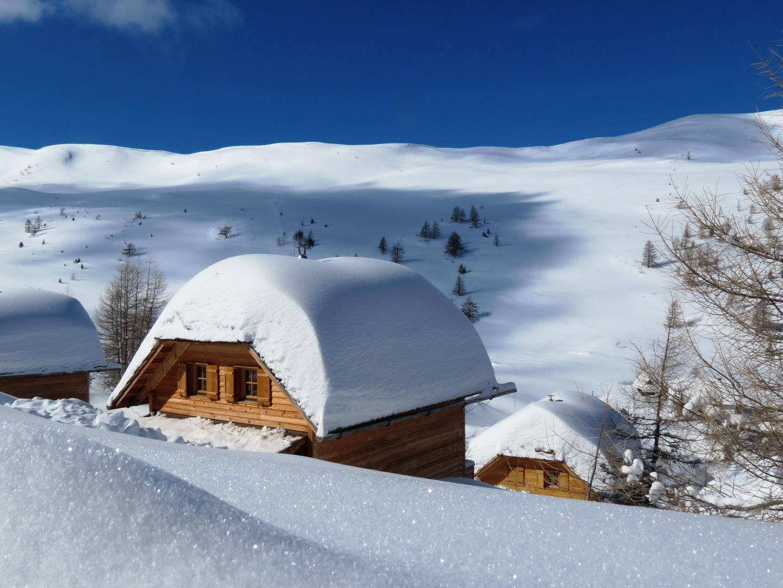 Wintertraum auf der Alm