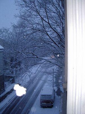 Wintertraum (mit riesen Flocke)